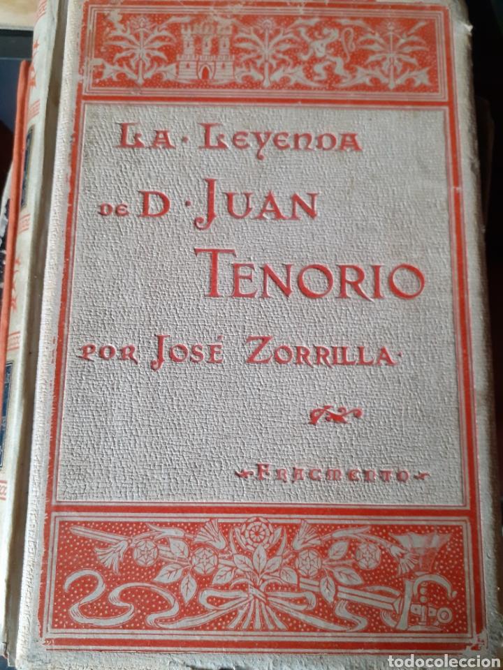 LA LEYENDA DE DON JUAN TENORIO JOSÉ ZORRILLA MONTANER Y SIMÓN 1895 (Libros antiguos (hasta 1936), raros y curiosos - Literatura - Teatro)