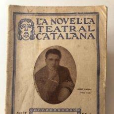 Libros antiguos: LA GATA MAULA. SARSUELA EN TRES ACTES. 1922. Lote 209994157