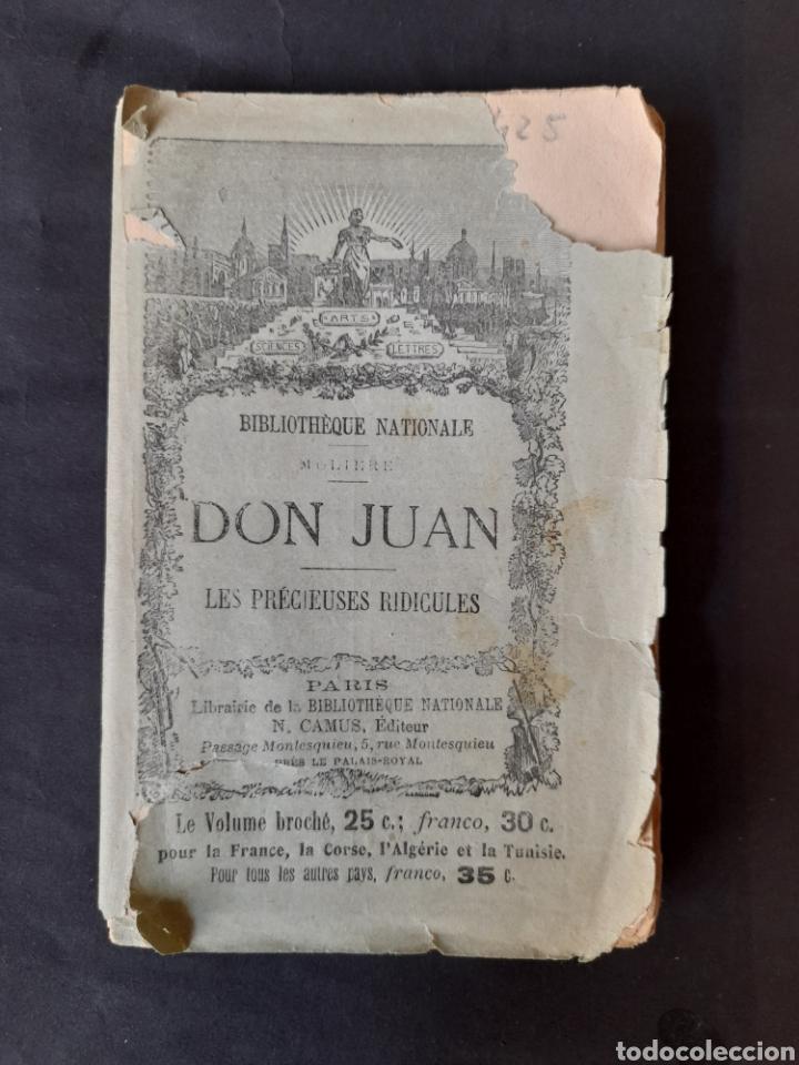 THÉATRE DE MOLIÈRE: DON JUAN; LES PRÉCIEUSES RIDICULES - MOLIÈRE (1910) (FRANCÉS) (Libros antiguos (hasta 1936), raros y curiosos - Literatura - Teatro)