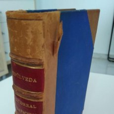 Libros antiguos: EL CORRAL DE LA PACHECA - RICARDO SEPÚLVEDA. MADRID, 1888. Lote 210642231