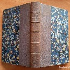 Libri antichi: 1877 THÉATRE COMPLET - ALFRED DE VIGNY / EN FRANCÉS. Lote 211675384