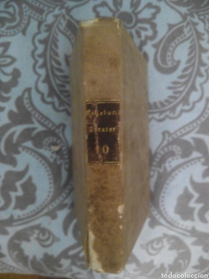 Libros antiguos: Libro alemán deutsch Wien 1840 Theater teatro - Foto 2 - 212629952