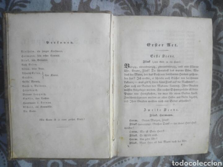 Libros antiguos: Libro alemán deutsch Wien 1840 Theater teatro - Foto 3 - 212629952