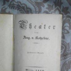 Libros antiguos: LIBRO ALEMÁN DEUTSCH WIEN 1840 THEATER TEATRO. Lote 212629952