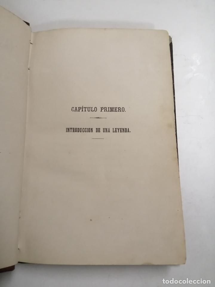 Libros antiguos: Las Almas Enamoradas, leyenda en verso. José Zorrilla. 1868 Barcelona. Ed.: Salvador Manero. - Foto 4 - 213709915