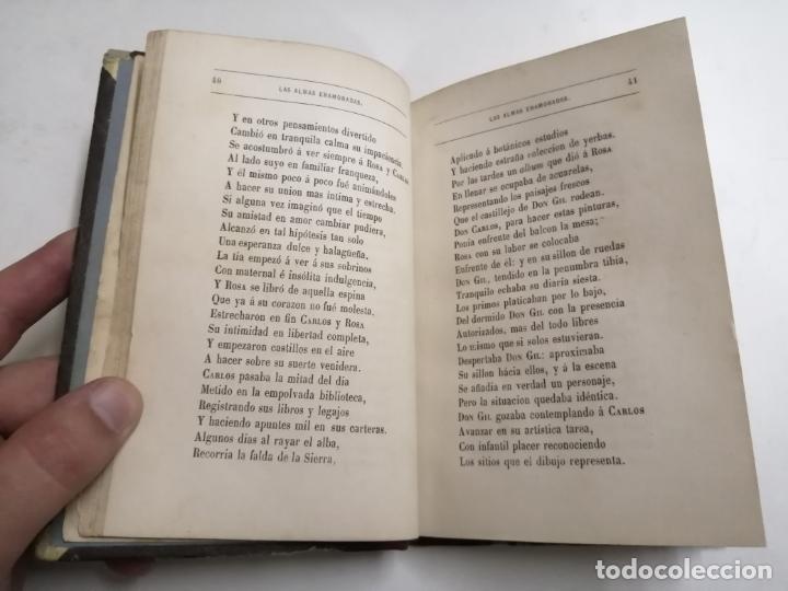 Libros antiguos: Las Almas Enamoradas, leyenda en verso. José Zorrilla. 1868 Barcelona. Ed.: Salvador Manero. - Foto 5 - 213709915