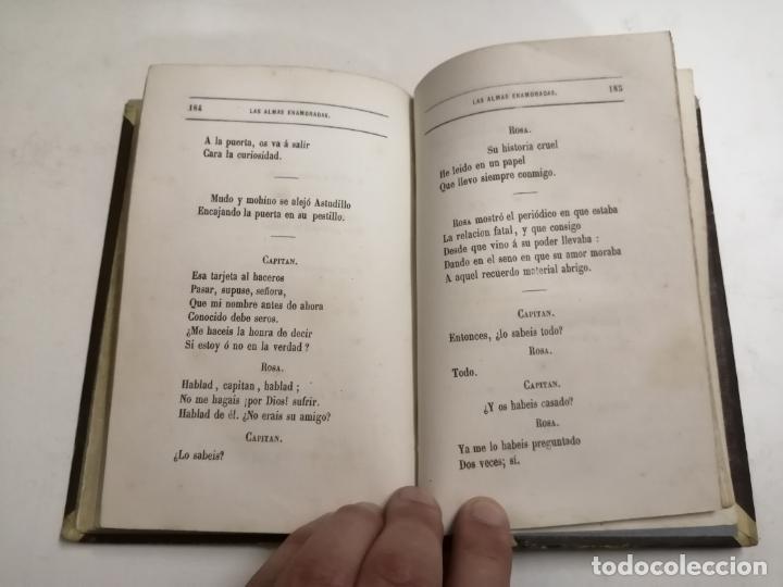 Libros antiguos: Las Almas Enamoradas, leyenda en verso. José Zorrilla. 1868 Barcelona. Ed.: Salvador Manero. - Foto 7 - 213709915