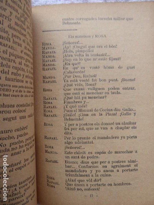 Libros antiguos: PR-2134, DE SACRISTÁ A TORERO.CHOGUET VALENSIÁ. LEOPOLDO G.BLAT Y VICENTE BROSETA BORRELL.1922 - Foto 5 - 213750655