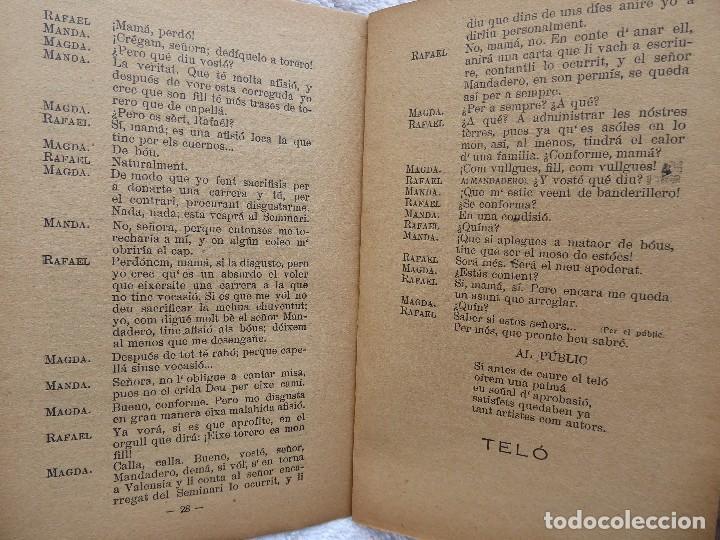 Libros antiguos: PR-2134, DE SACRISTÁ A TORERO.CHOGUET VALENSIÁ. LEOPOLDO G.BLAT Y VICENTE BROSETA BORRELL.1922 - Foto 6 - 213750655