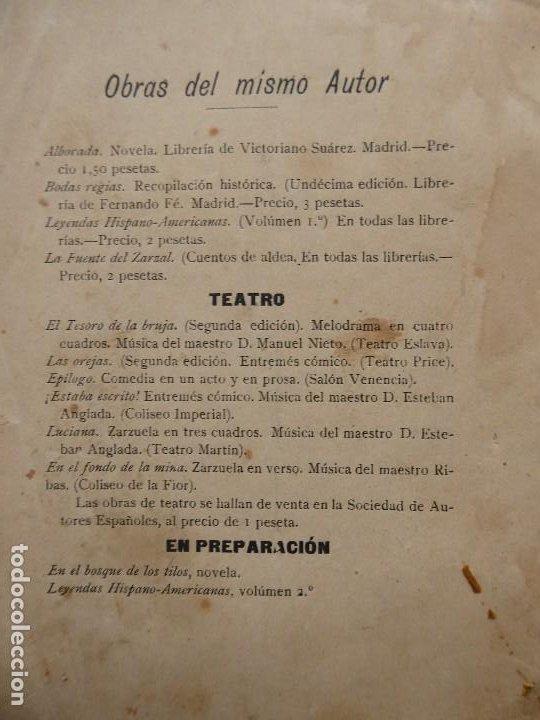 Libros antiguos: PR-2132.LAS OREJAS. ENTREMÉS CÓMICO.JOSÉ QUILIS PASTOR. SDAD. DE AUTORES ESPAÑOLES. MADRID. AÑO 1909 - Foto 2 - 213750755