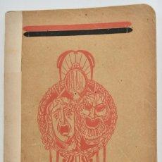 Libros antiguos: ANTONIO J. BASTINOS. ARTE DRAMÁTICO ESPAÑOL CONTEMPORÁNEO.BOSQUEJO AUTORES Y ARTISTAS.BARCELONA,1914. Lote 213793033