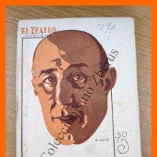 Livros antigos: MALAGA TIENE LA FAMA... - LOLA RAMOS DE LA VEGA - EL TEATRO MODERNO, AÑO VII - Nº 291. Lote 216725712