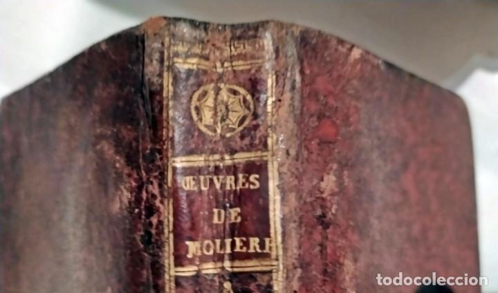 OBRAS DE MOLIÉRE. AÑO VII DE LA REPÚBLICA FRANCESA. (Libros antiguos (hasta 1936), raros y curiosos - Literatura - Teatro)