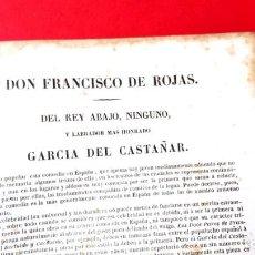 Libros antiguos: DEL REY ABAJO NINGUNO - FRANCISCO DE ROJAS - ED. SIGLO XIX. Lote 218079675