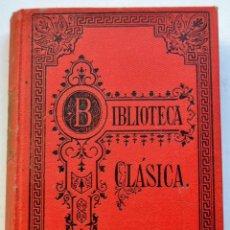 Libros antiguos: TEATRO SELECTO DE JUAN WOLFGANG GOETHE. BIBLIOTECA CLÁSICA. TOMO I. LIBRERÍA PERLADO. MADRID, 1922. Lote 220295066