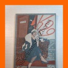 Libros antiguos: K-29, COMEDIA EN TRES ACTOS - RAFAEL LOPEZ DE HARO Y M. GOMEZ - LA FARSA Nº 163 - 25 OCTUBRE 1930. Lote 221877722