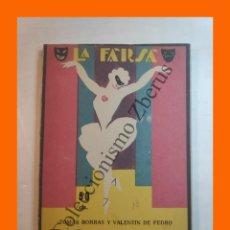 Libros antiguos: EL GATO CON BOTAS - COMEDIA PARA NIÑOS - TOMAS BORRAS - LA FARSA Nº 18 - 7 ENERO 1928. Lote 221953611