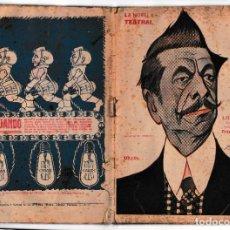Libros antiguos: LA NOVELA TEATRAL Nº 57 - LOS GEMELOS - TRISTÁN BERNARD - ENERO 1918. Lote 222017180