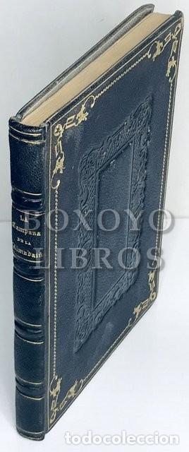 PALOU Y COLL,JUAN. LA CAMPANA DE LA ALMUDAINA. DRAMA ORIGINAL EN TRES ACTOS Y EN VERSO (Libros antiguos (hasta 1936), raros y curiosos - Literatura - Teatro)