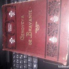 Libros antiguos: GENOVEVA DE BRAVANTE. DE CRISTOBAL SCHMID. Lote 222146040