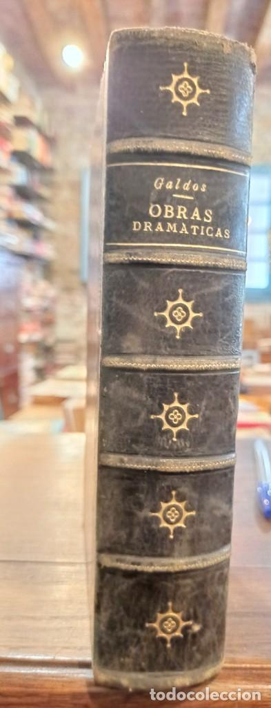 OBRAS DRAMATICAS.REALIDAD.GALDOS. IMPRENTA LA GUIRNALDA.1892.MADRID. (Libros antiguos (hasta 1936), raros y curiosos - Literatura - Teatro)