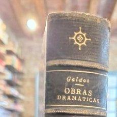 Libros antiguos: OBRAS DRAMATICAS.REALIDAD.GALDOS. IMPRENTA LA GUIRNALDA.1892.MADRID.. Lote 223215163