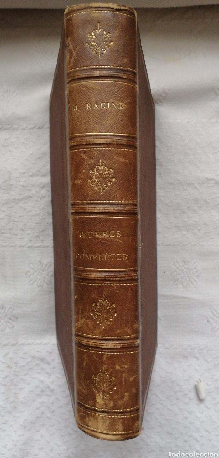 OEUVRES COMPLETES DE J. RACINE, PRÉCÉDÉES D'UN ESSAI SUR SA VIE ET SES OUVRAGES J. RACINE & LOUIS (Libros antiguos (hasta 1936), raros y curiosos - Literatura - Teatro)