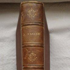 Libros antiguos: OEUVRES COMPLETES DE J. RACINE, PRÉCÉDÉES D'UN ESSAI SUR SA VIE ET SES OUVRAGES J. RACINE & LOUIS. Lote 224292625