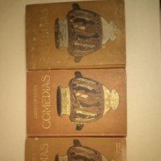 Libros antiguos: ARISTOFANES COMEDIAS EDITORIAL PROMETEO. Lote 224783027