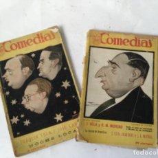 Libros antiguos: LOTE 2 LIBRILLOS COMEDIAS , EDITORIAL SIGLO XX, MADRID , CONTIENE 3 OBRAS TEATRALES. Lote 226634700