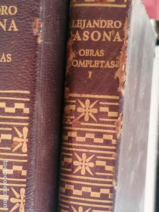 Libros antiguos: obras completas. Alejandro Casona. 2 vOL. 4º ED. 1965 904 y 1466pp - Foto 2 - 226788722