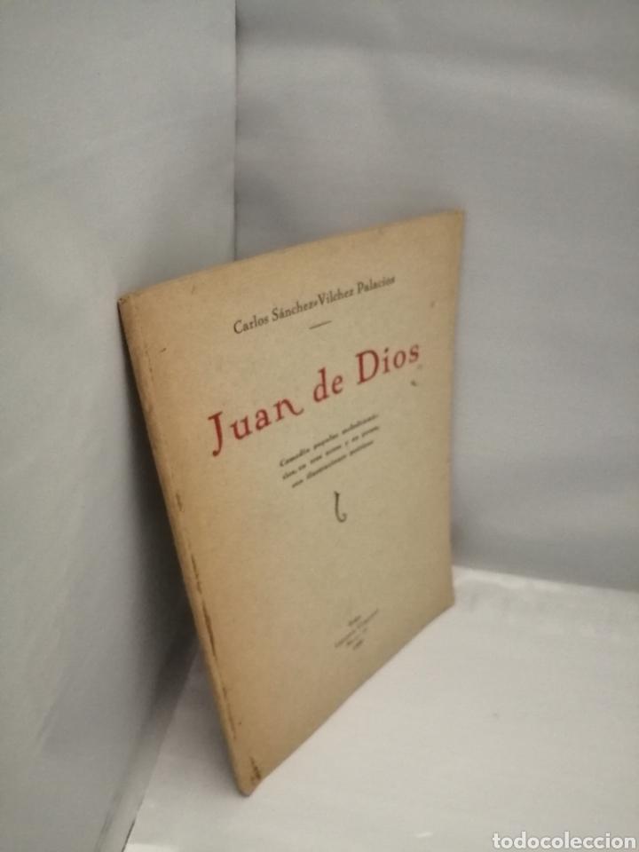Libros antiguos: JUAN DE DIOS: Comedia popular melodramática, en tres actos y en prosa con ilustraciones poéticas - Foto 3 - 227560590