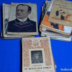 Libros antiguos: 35 NOVELAS TEATRO ANTIGUO Y OTROS.. Lote 228063660