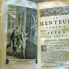 Libros antiguos: AÑO 1723: TEATRO DE CORNEILLE. LIBRO ILUSTRADO DE 300 AÑOS DE ANTIGÜEDAD.. Lote 228099625
