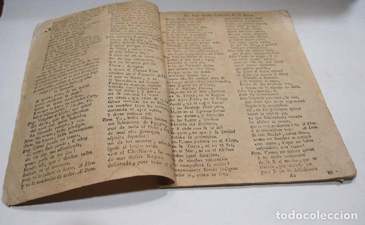 Libros antiguos: COMEDIA FAMOSA. EL JOSEPH DE LAS MUGERES. DE DON PEDRO CALDERÓN DE LA BARCA. BARCELONA, 1766 - Foto 2 - 228535700