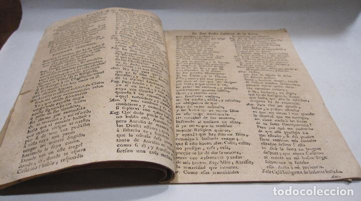 Libros antiguos: COMEDIA FAMOSA. EL JOSEPH DE LAS MUGERES. DE DON PEDRO CALDERÓN DE LA BARCA. BARCELONA, 1766 - Foto 3 - 228535700