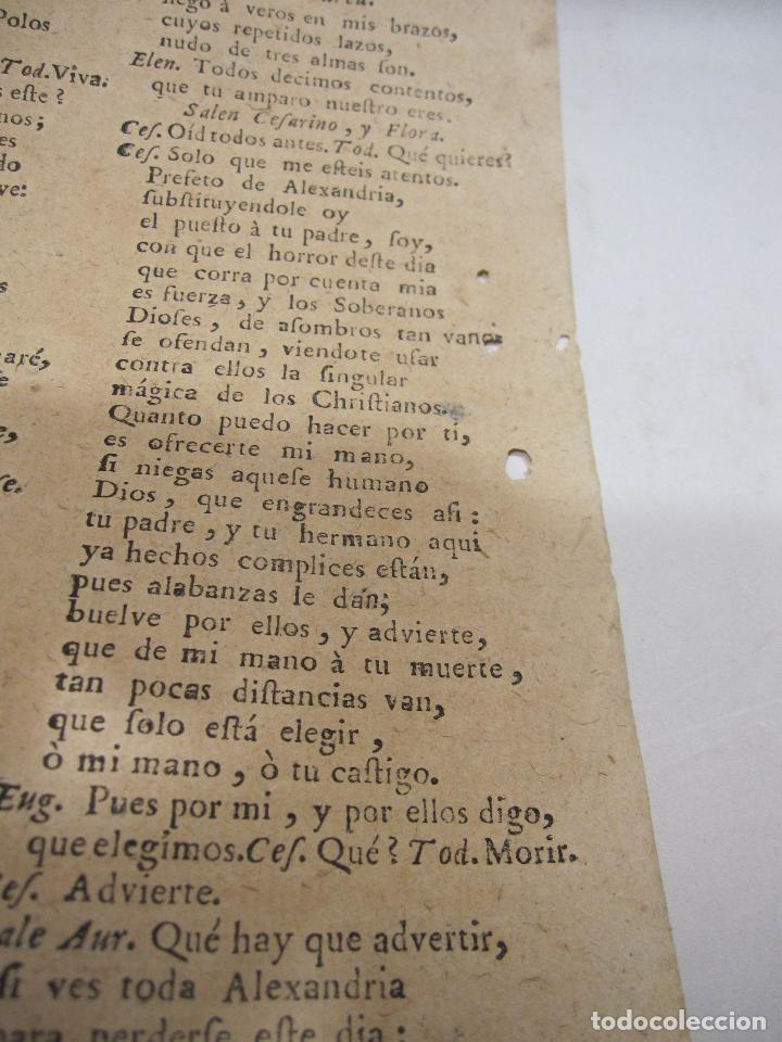 Libros antiguos: COMEDIA FAMOSA. EL JOSEPH DE LAS MUGERES. DE DON PEDRO CALDERÓN DE LA BARCA. BARCELONA, 1766 - Foto 5 - 228535700
