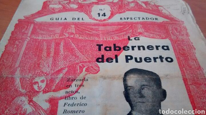 Libros antiguos: GUIA DEL ESPECTADOR-LA TABERNERA DE FEDERICO ROMERO Y G. FERNANDEZ SHAW - Foto 3 - 228858060