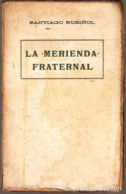LA MERIENDA FRATERNAL (Libros antiguos (hasta 1936), raros y curiosos - Literatura - Teatro)