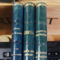 Libros antiguos: HOLANDESA PIEL DE EPOCA. 1916 4 OBRAS LA LAMPARA MARAVILLOSA . VODEVIL EN TRES ACTOS - MM GAVAUL Y. Lote 229975340