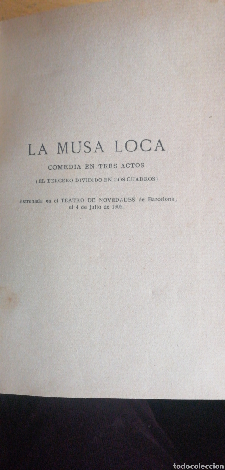 Libros antiguos: Serafin y Joaquín ALVAREZ QUINTERO. Comedias escogidas IV. SF 1911? In 8 M media piel hierros nervi - Foto 2 - 230022100