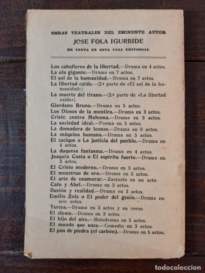 Libros antiguos: EL PERRO DEL HORTELANO - LOPE DE VEGA - CASA EDITORIAL MAUCCI, NO CONSTA AÑO, BARCELONA, INTONSO - Foto 3 - 230774020