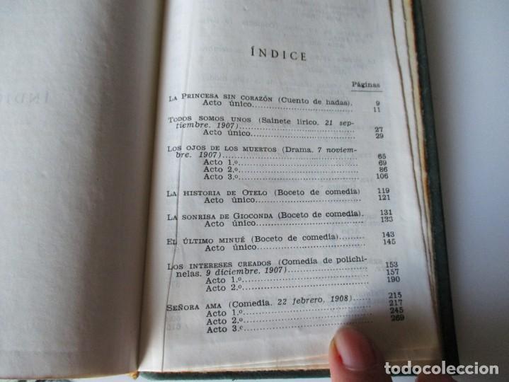 Libros antiguos: JACINTO BENAVENTE Obras completas III W4961 - Foto 4 - 232574360