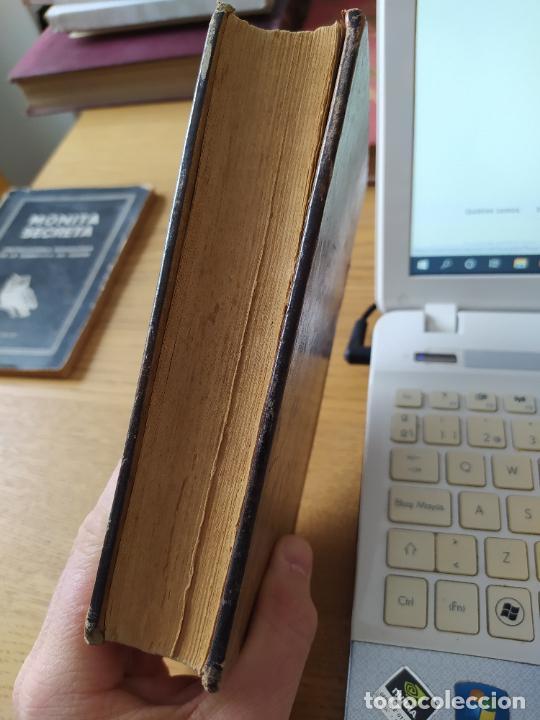 Libros antiguos: Obras Completas, Manuel Linares, Teeatro, Biblioteca Hispana, 1915. En piel. - Foto 7 - 233825155