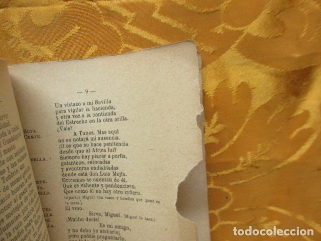 Libros antiguos: LA APUESTA DE DON JUAN TENORIO. POR GONZALO JOVER. - Foto 8 - 235219615