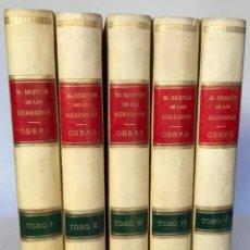 Libros antiguos: OBRAS DE... - BRETON DE LOS HERREROS, MANUEL.. Lote 235925545