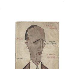 Libros antiguos: CARLOS ARNICHES . EL AGUA DEL MANZANARES (NOVELA CÓMICA, 1918) INTONSO. Lote 236922365