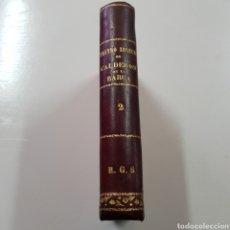 Libros antiguos: CALDERON DE LA BARCA - TEATRO SELECCTO TOMO II - AÑO 1881. Lote 237069350