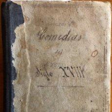 Livros antigos: COMEDIAS SIGLO XIII- COMEDIAS FAMOSAS- VOLUMEN CON 10 EJEMPLARES- MADRID- SEVILLA- VALENCIA. Lote 238454835