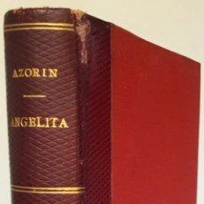 Libros antiguos: ANGELITA. AUTO SACRAMENTAL. - AZORÍN.. Lote 238738970